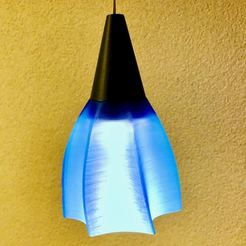 Download 3D printing designs Ikea ledbërg holder for Lamp, MartinT