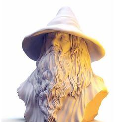 3drender.JPG Download STL file Gandalf • 3D print design, 3DJourney
