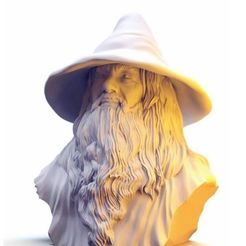 3drender.JPG Télécharger fichier STL Gandalf • Objet pour imprimante 3D, 3DJourney
