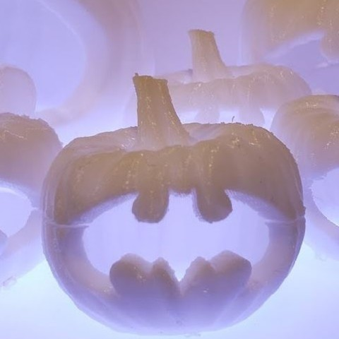 Download free STL Bat-o'-lantern, 3DJourney