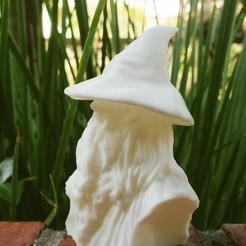 3dprint_withhat.jpg Download STL file Gandalf • 3D print design, 3DJourney