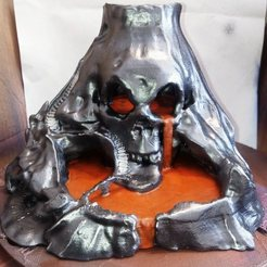 Free 3d print files Skull Island, chocho-007