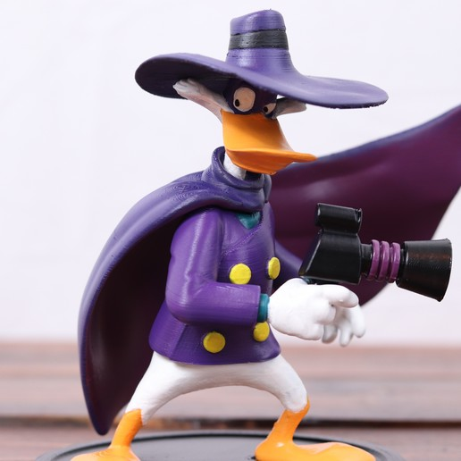 Download 3D model Darkwing Duck, 3DPrintGeneral