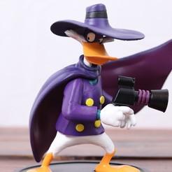 Descargar archivo 3D Pato Darkwing, 3DPrintGeneral
