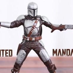 Descargar STL El Mandalorian, 3DPrintGeneral