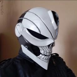 Imprimir en 3D Casco Ghost Rider (Robbie Reyes), 3DPrintGeneral