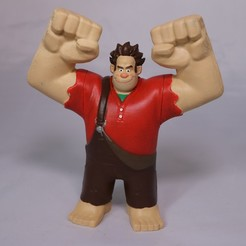 Download 3D printer designs Wreck-it Ralph, 3DPrintGeneral