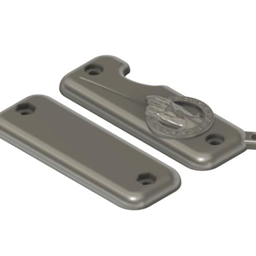Download free 3D printer designs key ring razor set of thrones, eduardojcch