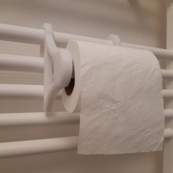 3D printer models Toilet paper holder, ACdesign