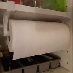 Télécharger fichier 3D Porte rouleau papier essui-tout, ACdesign