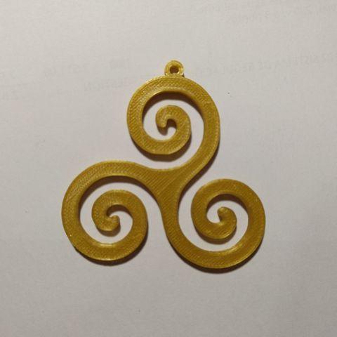 Download free 3D printer designs Spiral Pendant, diazortegafem
