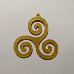 Download free 3D printer designs Spiral Pendant, diazortegafem