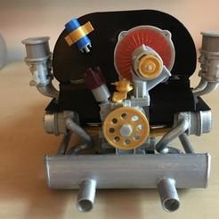 Download free STL Weber 40 IDF carburetor, maiersbus