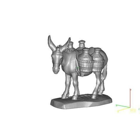 Free 3D printer designs Donkey scan, maiersbus