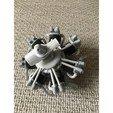 Free 3D printer files Radial engine printable, maiersbus