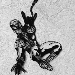 20210121_141410.jpg Download STL file Wall sculpture SPIDERMAN 2D • 3D printable design, GDBS