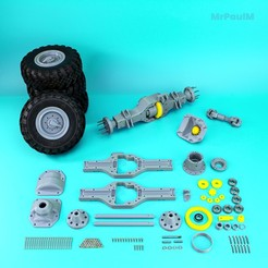 5.jpg Download STL file 𝐑𝐂 𝐓𝐑𝐔𝐂𝐊 𝟖𝐱𝟖 𝗞𝗔𝗠𝗔𝗭 𝟲𝟯𝟱𝟬 𝟑𝐃: 𝐑𝐄𝐀𝐑 𝐀𝐗𝐋𝐄 (𝐅𝐔𝐋𝐋)(𝐂𝐄𝐍𝐓𝐄𝐑 𝐑𝐄𝐀𝐑 𝐀𝐗𝐋𝐄 𝐈𝐍𝐂𝐋𝐔𝐃𝐄𝐃) • 3D printer design, MrPaulM