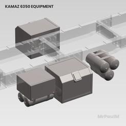 11.jpg Télécharger fichier STL gratuit 𝗥𝗖 𝗧𝗥𝗨𝗖𝗞 𝟴𝘅𝟴 𝗞𝗔𝗠𝗔𝗭 𝟲𝟯𝟱𝟬 𝟯𝗗 : 𝗘𝗤𝗨𝗜𝗣𝗠𝗘𝗡𝗧 • Design pour imprimante 3D, MrPaulM