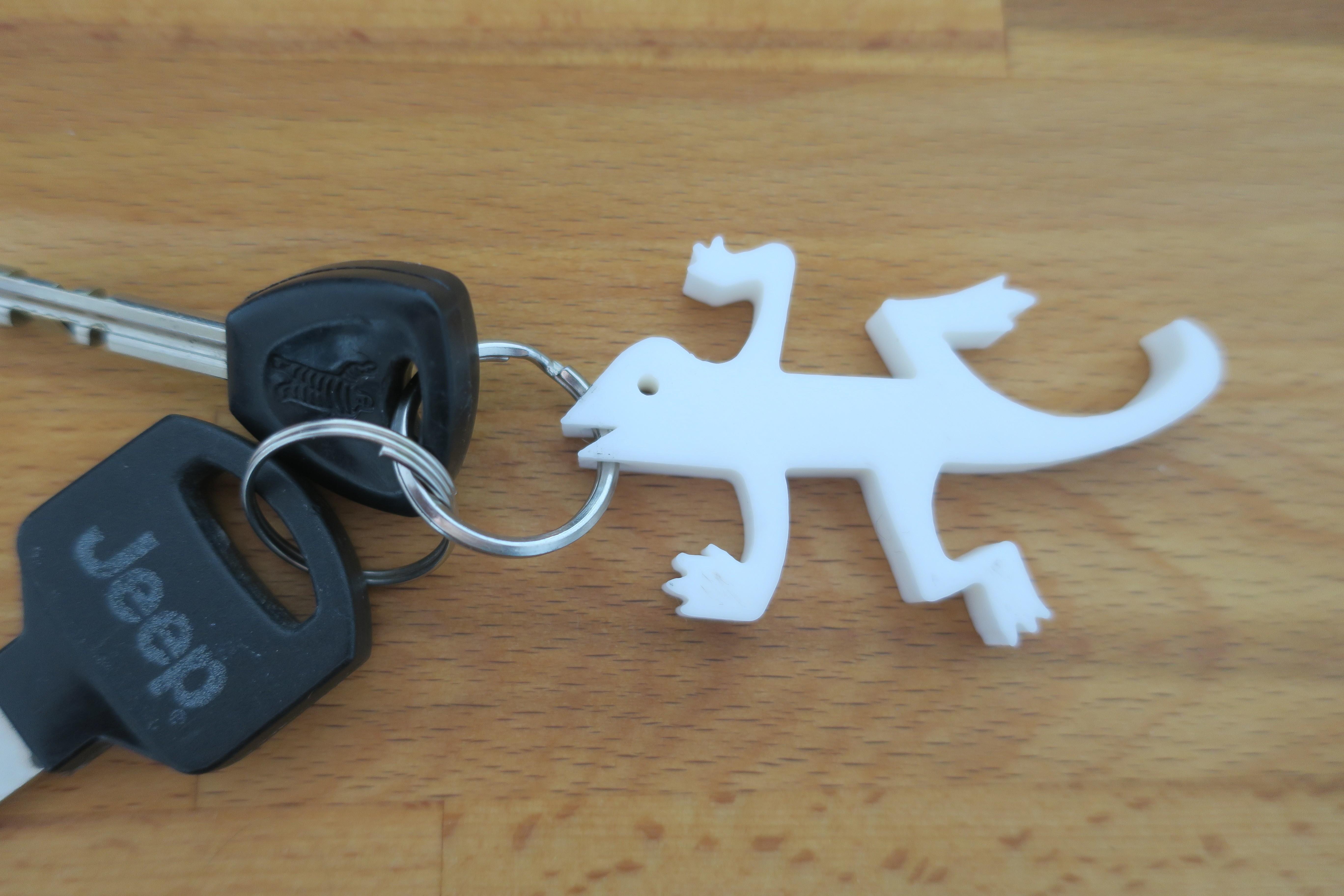 IMG_2496.JPG Download free STL file Bottle opener key holder • 3D print template, kermanns