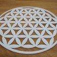 Modèle 3D gratuit Symbole Fleur de vie, kermanns