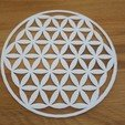 Free 3D printer model Flower of life symbol, kermanns