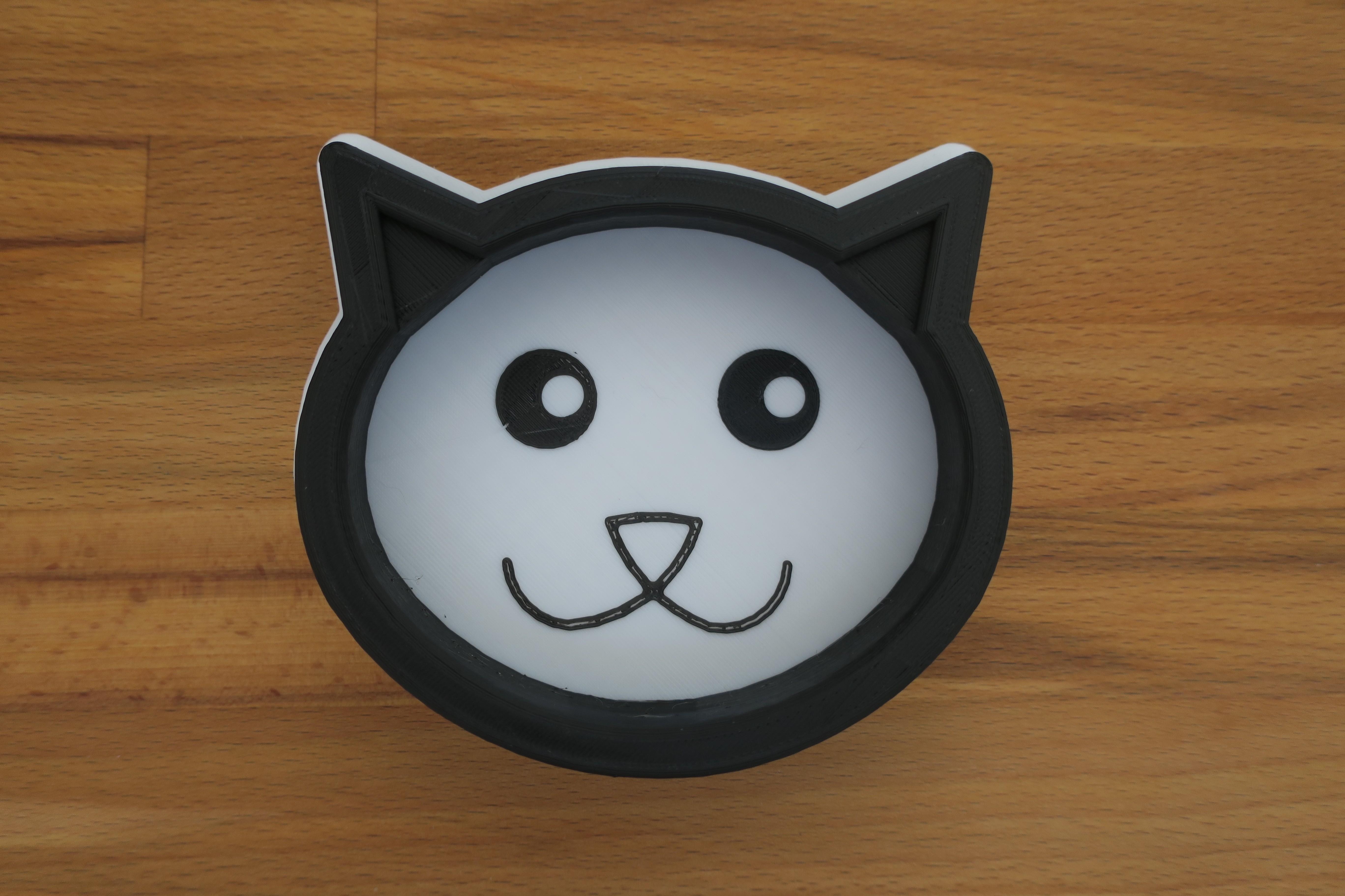 IMG_2475.JPG Download STL file Cat bowl • 3D printable design, kermanns