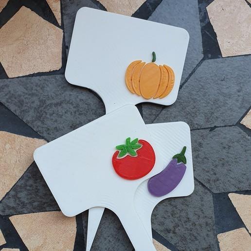 20190911_120242.jpg Télécharger fichier STL Signes de légumes - potiron • Modèle à imprimer en 3D, 3dlabaproca