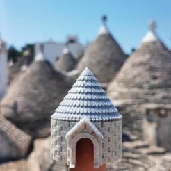 Télécharger objet 3D gratuit Trullo d'Alberobello, Pouilles, Italie, Manfactory