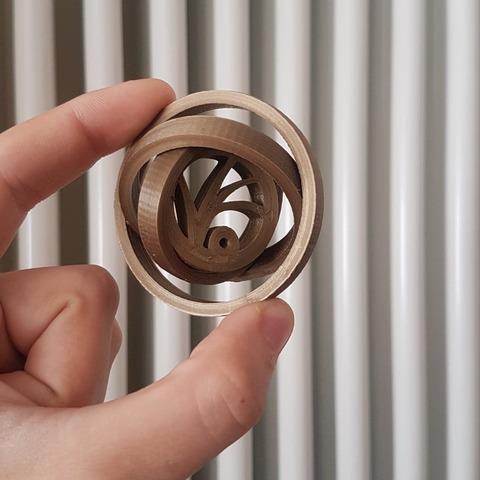 Modèle 3D gratuit Lemony Snicket's A Series of Unfortunate Events gyroscope VFD, Manfactory