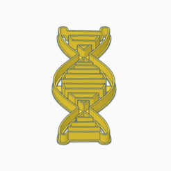 Download STL file Cookie cutter for scientific bisciuts - DNA, Manfactory