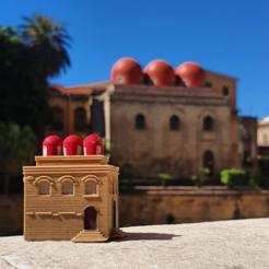 Download free 3D model Church of San Cataldo - Palermo Miniworld, 3dlabaproca