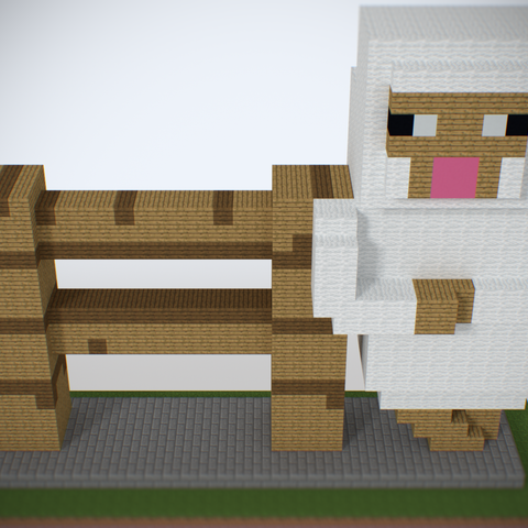 sheep1.png Download STL file Sheep Fence • Template to 3D print, Petes