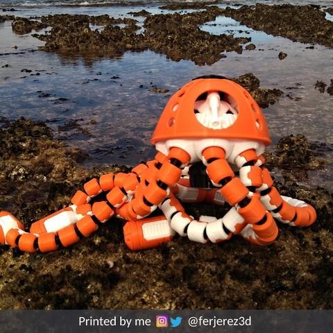 Fichier imprimante 3D gratuit Jell-E Medusa : Le scout, ferjerez3d