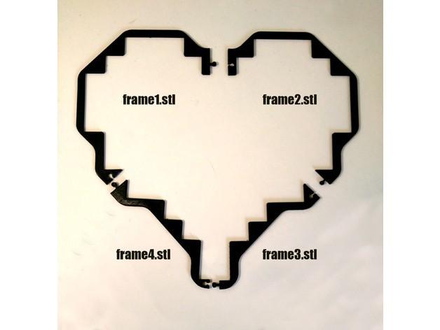 a636cbbc3cd925c1af0c76d853949776_preview_featured.jpg Download free STL file Tetris Heart Puzzle • Design to 3D print, ferjerez3d