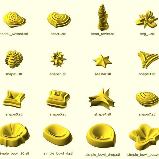 thumbs3.jpg Télécharger fichier STL gratuit Supershape Madness • Plan à imprimer en 3D, ferjerez3d