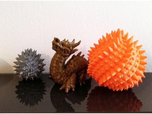 df6c0e7f13d2343d536a32d8ac6c67a8_preview_featured.jpg Download free STL file Dragon Eggs • 3D print design, ferjerez3d