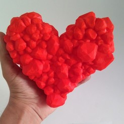 heart1.jpg Download free STL file Rocky Love • 3D printable object, ferjerez3d