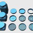 Download free 3D print files Container + Lids, ferjerez3d