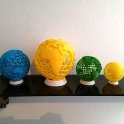 Descargar modelo 3D gratis Globo de tierra con cable, ferjerez3d