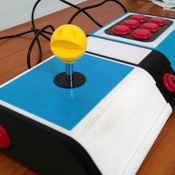 Free 3D printer model Arcade Controller BIG case, ferjerez
