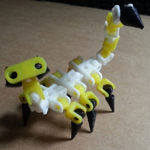 491cbe27353824f312fae66be17dd92d_preview_featured.jpg Download free STL file ChainClip. Robocreatures parts • 3D print object, ferjerez3d