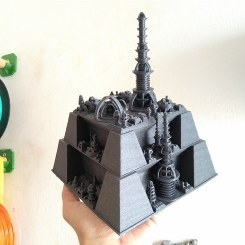 38bae4328bc47075b4405ce45a01c223_preview_featured.jpg Download free STL file Ice Tower + Coal Fortress • 3D printing template, ferjerez3d