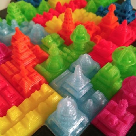 Capture d'écran 2018-07-18 à 18.15.17.png Download free STL file Tetris Heart Puzzle • Design to 3D print, ferjerez3d