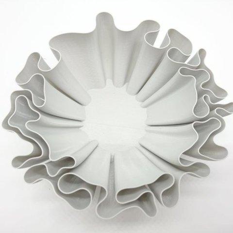 Download free 3D printer designs Wavy bowl, ferjerez3d