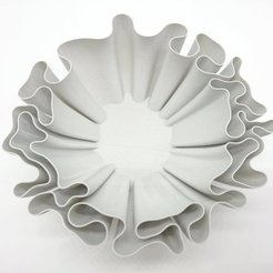 Download free 3D printer designs Wavy bowl, ferjerez3d