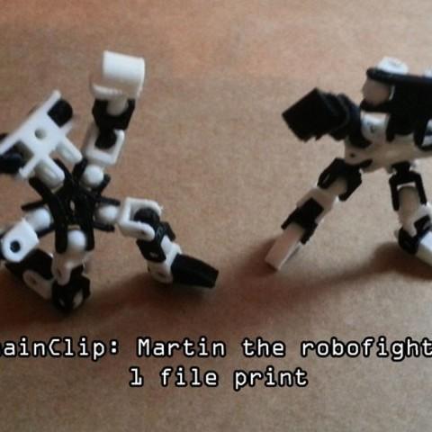 53726f5818a7d95e448cdbffb52249cb_preview_featured.jpg Download free STL file ChainClip. Martin the robofighter  • 3D printable design, ferjerez3d