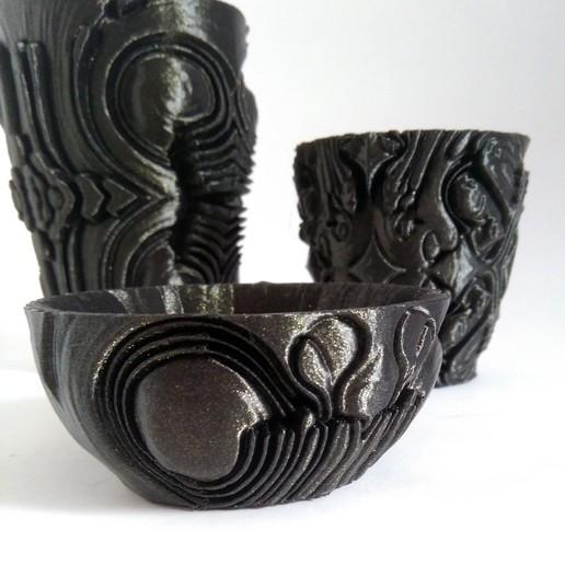 IMG_20190914_121657.jpg Télécharger fichier STL Collection de poteries étrangères • Objet pour imprimante 3D, ferjerez3d