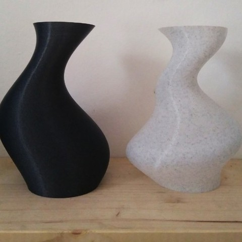 e971e9a360520f42a07f010328383861_preview_featured.jpg Download free STL file Two Simple Vases • 3D print template, ferjerez3d
