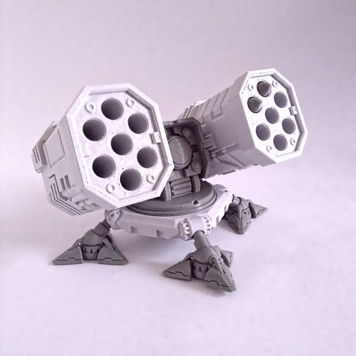 sam2.jpg Download STL file SAM Rocket Launcher Penholder • Model to 3D print, ferjerez3d