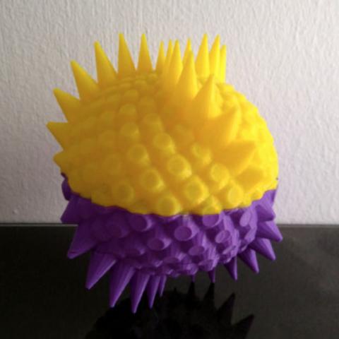Capture d'écran 2018-07-18 à 10.50.26.png Download free STL file Dragon Egg Boxes • 3D print object, ferjerez3d